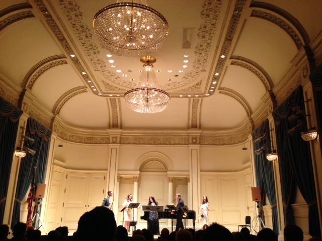 New Thread Quartet with Andrea Smith, Weill Recital Hall, Carnegie Hall